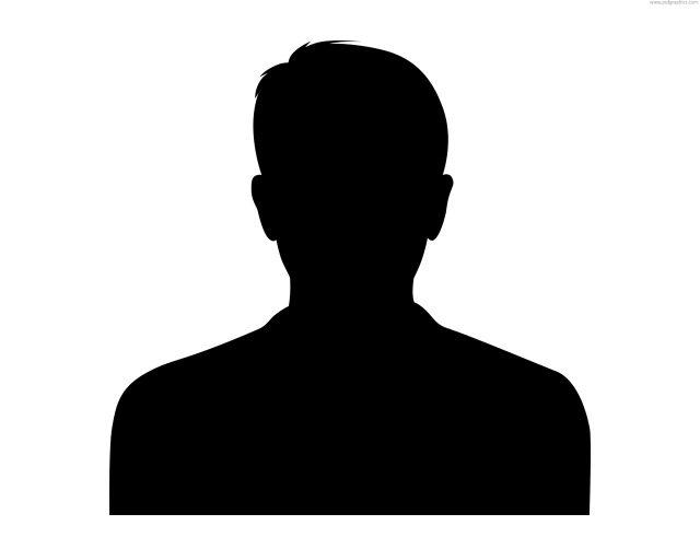 male headshott silhouette