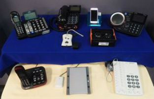 Many different kinds of adaptive phone equipment can be purchased through TEPP.